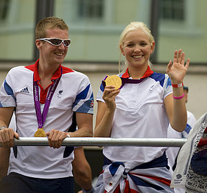 James Roe (rower) - Image: James Roe & Pam Relph