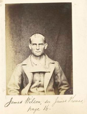 Convict era of Western Australia - James Wilson, a convict transported to Western Australia in 1867