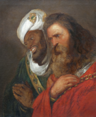 Jan Lievens- King Guy of Lusignan and King Saladin