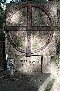 Jan Rembowski, Hanna Rembowska grób 02.JPG