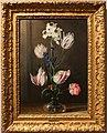 Jan van den hecke il vecchio, fiori in un vaso di vetro, fiandre 1650 ca.jpg