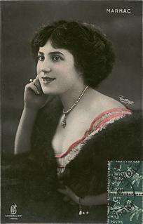 Jane Marnac Belgian actress