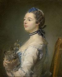 Jean-Baptiste Perronneau: Magdaleine Pinceloup de la Grange, née de Parseval