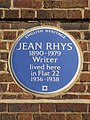 Jean Rhys 1890-1979 Writer lived here in Flat 22 1936-1938.jpg
