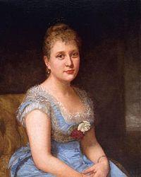 Jeanette Shepperd Harrison Loop - Portrait of a woman wearing a blue dress with white lace.jpg