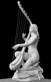 Jeanne Itasse (1865-1941) - Egyptian Harpist, 1891 (8711975061).png