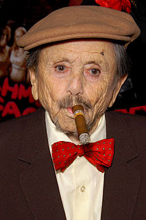 Jerry Maren American actor best known for his role as a Munchkin in the 1939 movie The Wizard Of Oz