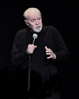 George Carlin American stand-up comedian