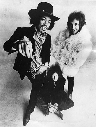 The Jimi Hendrix Experience - Publicity photo of the band in 1968
