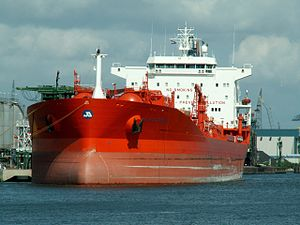 Jo Sycamore - IMO 9198563 Port of Rotterdam, Holland 06-Aug-2005.jpg
