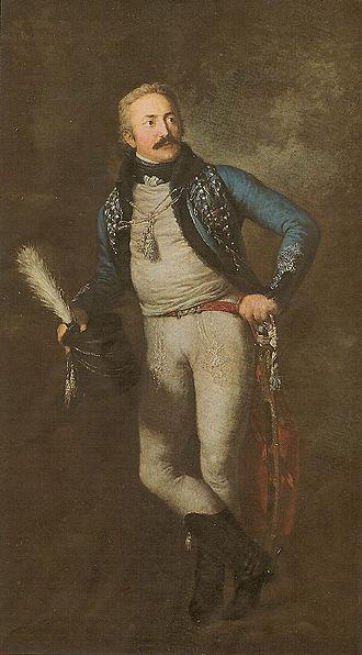 Battle of Altenburg - Image: Johann Adolf Freiherr von Thielmann (cropped)