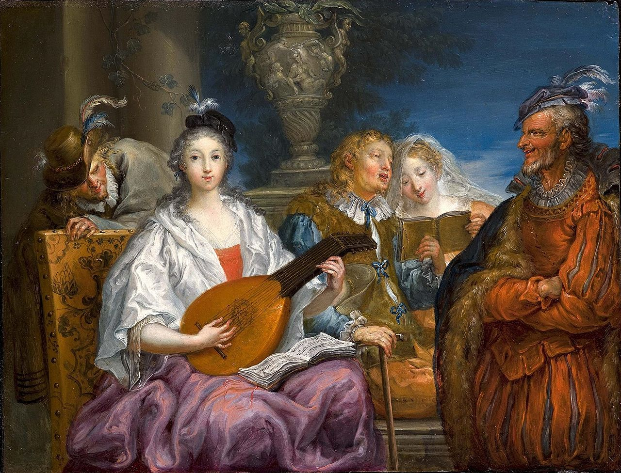 Johann Georg Platzer - Das Konzert (ca.1740).jpg