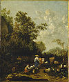 Johannes van der Bent Landscape with peasants.jpg