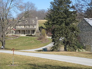 National Register of Historic Places listings in southern Chester County, Pennsylvania - Image: John Bailey Farm