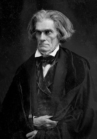 20th United States Congress - President of the Senate John C. Calhoun