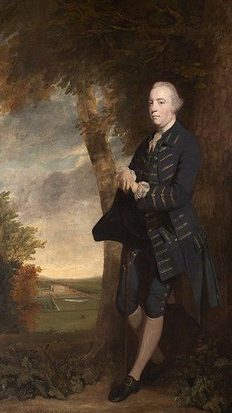 John Fane, 9th Earl of Westmorland - Sir John Fane painted by Sir Joshua Reynolds, 1764