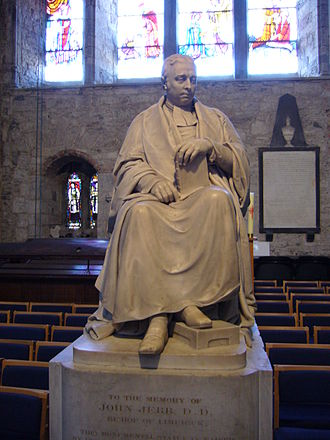 John Jebb (bishop) - Statue of Bishop Jebb in St Mary's Cathedral, Limerick.