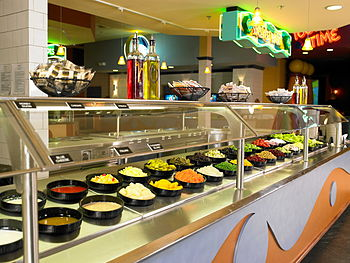 English: Johns Inc Salad_Bar_Buffet
