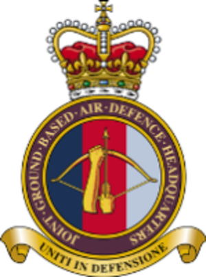 Joint Ground Based Air Defence Headquarters - Joint Ground Based Air Defence Headquarters