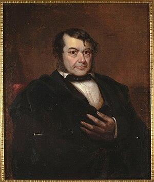 José Joaquín Estudillo - Portrait of José Joaquin Estudillo
