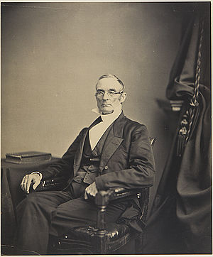 Joshua Leavitt - Abolitionist editor and publisher Rev. Joshua Leavitt, photographed by Mathew B. Brady. Ca. 1860