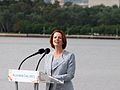 Julia Gillard speaking at the National Flag Raising and Citizenship ceremony.jpg