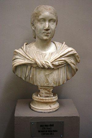 Julia Cornelia Paula - Bust of Julia Cornelia Paula