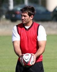July 22, 2011 Fritz and Stade toulousain ball.jpg
