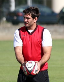 Description de l'image  July 22, 2011 Fritz and Stade toulousain ball.jpg.