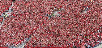 Jump Around - Image: Jump Around Wisconsin Badgers Sept 6 2014