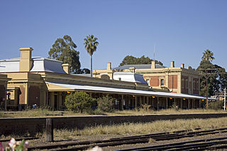 Junee railway station railway station in New South Wales, Australia