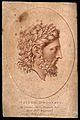 Jupiter (Zeus). Sanguine stipple engraving by F. Bartolozzi Wellcome V0035805.jpg