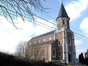 Juprelle - Image: Juprelle Eglise Saint Barthélémy