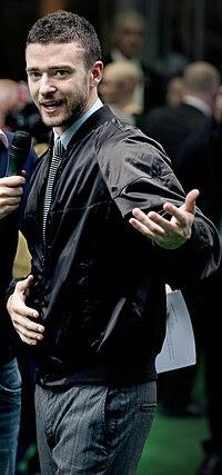 affiche Justin Timberlake