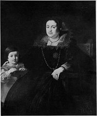 Portrait of a Woman and Her Son