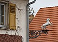 Königsbronn Germany White-horse-sign-at-Gasthof-Weisses-Rössle-01.jpg