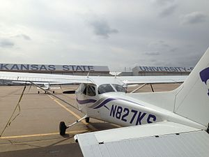 Kansas State University Polytechnic Campus - Kansas State Aircraft and Hangars