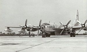 United States Air Forces in Europe - Air Forces Africa - Arrival of SAC KB-50s in Germany, 1946
