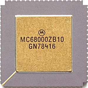 Motorola 68000 - Motorola MC68000 (CLCC package)