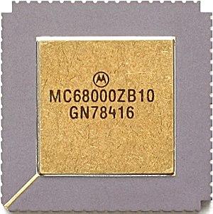 Genesis Nomad - Motorola MC68000, similar to one used in the Genesis Nomad
