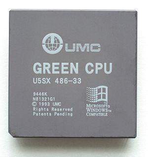 Intel 80486 - UMC Green CPU U5SX
