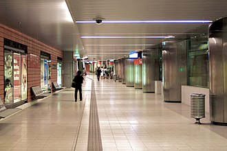 King George Square busway station - Image: K george square station