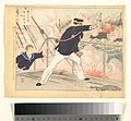 Kabayama Chujo furu yumo shin no zu-Vice Admiral Kabayama Advancing Bravely and Heartily MET DP143063.jpg