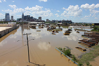 2010 Tennessee floods Natural disaster