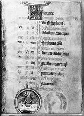 Kalendarium till en bönbok