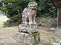 Kamakura-Jinjya(Yosano)狛犬 吽.jpg