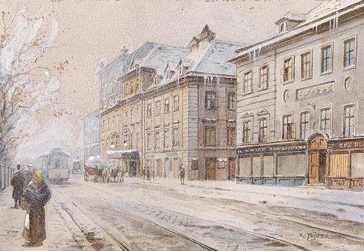 Karl Wenzel Zajicek Theater an der Wien im Winter