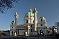 Karlskirche, Vienna. Hier entsorgen sie den Unrat des Lebens.jpg