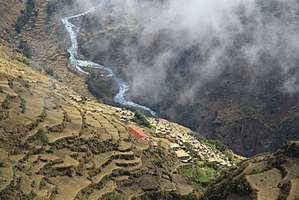 Ghaghara - Karnali River in Humla, Nepal