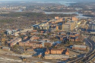 Karolinska University Hospital - Image: Karolinska February 2013 03